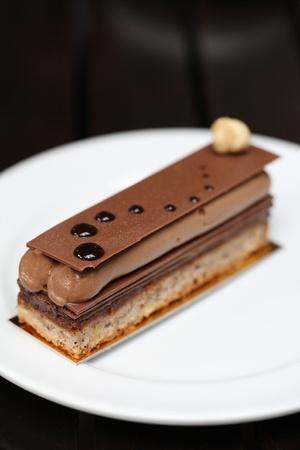 comida gourment: pastel de chocolate