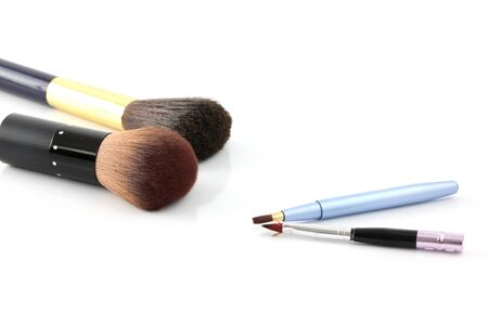 cosmetics isolated in white background photo