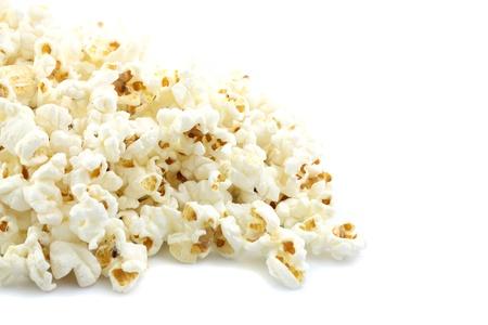 popcorn isolated in white background Stock Photo - 10355413