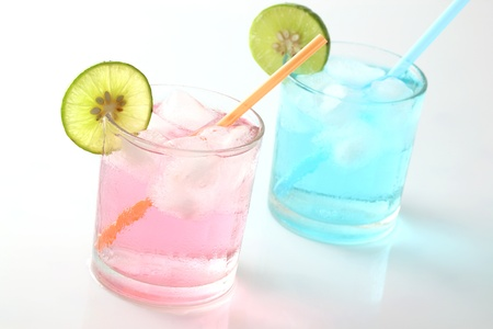 Cocktail isolated in white background photo