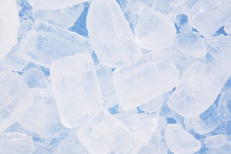 ice background in blue Stock Photo - 10747082