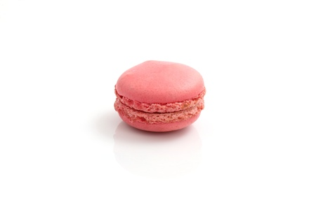 Macaron isolated in white background photo