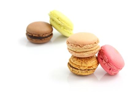 Macaron isolated in white background Stock Photo - 10786161