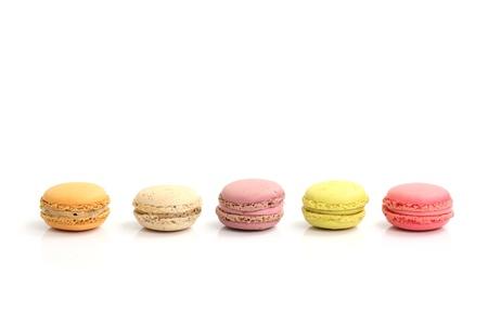 macaroon: Macaron isolated in white background Stock Photo