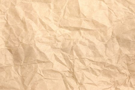 crumpled paper bag background photo