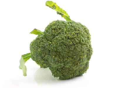 broccoli isolated in white background photo