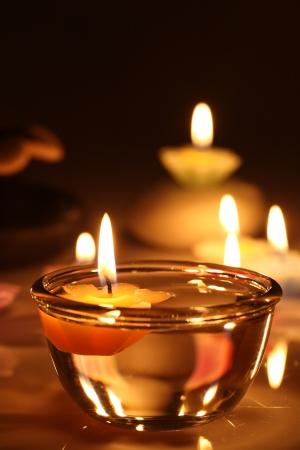 candle: bloem kaarsen