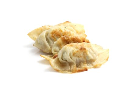gyoza: gyoza isolated in white background