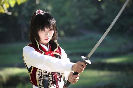 katana: Portret samurai meisje