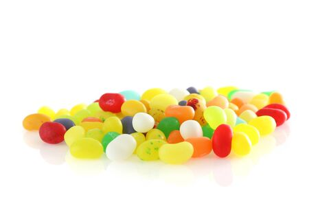 group of colored sweet candies isolated in white background Stock Photo - 12913742