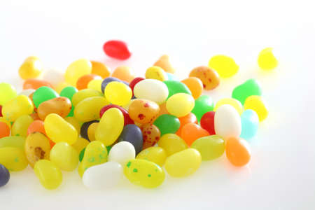 group of colored sweet candies isolated in white background Stock Photo - 12914021
