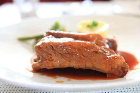 BBQ ribs  photo