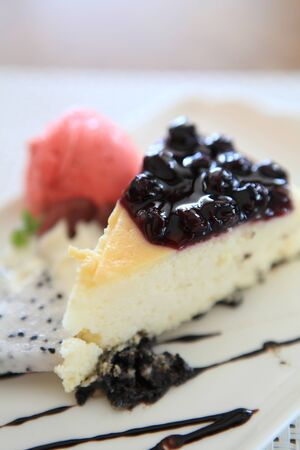 Berry fruit cake  photo