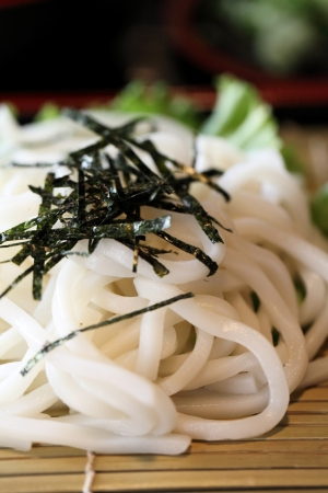 Udon noodles Stock Photo - 13729731