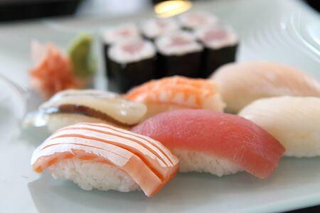 Sushi set  Stock Photo - 14489386