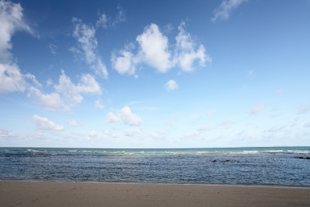 beach and tropical sea  photo