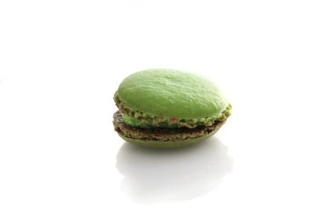 Macaron isolated in white background photo