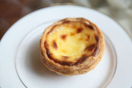 Hong Kong Egg tart  photo