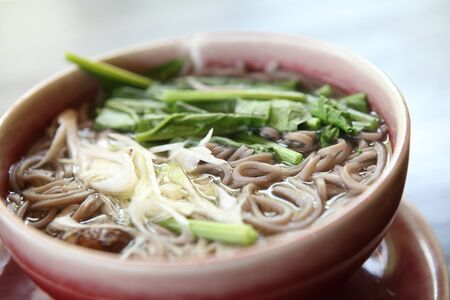 Soba noodle photo