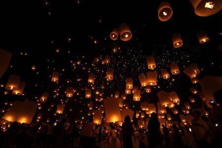 Floating lantern Stock Photo - 16680082