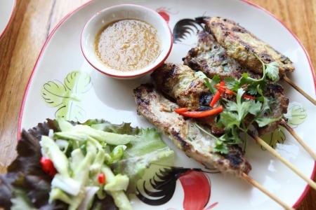Chicken Satay Stock Photo - 17201540