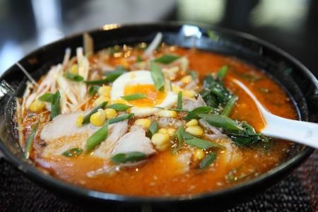 noodle ranmen Japanese food  Reklamní fotografie
