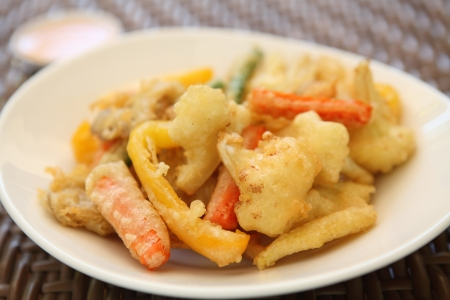 vegetable tempura photo