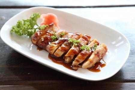 chicken teriyaki Reklamní fotografie
