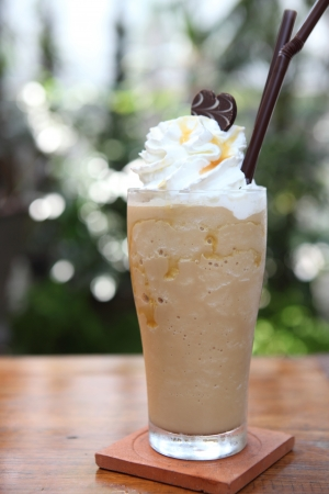 Kaffee frappe Standard-Bild - 18121194