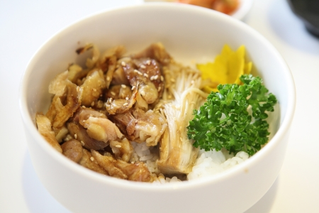 Grilled Chicken teriyaki rice  photo