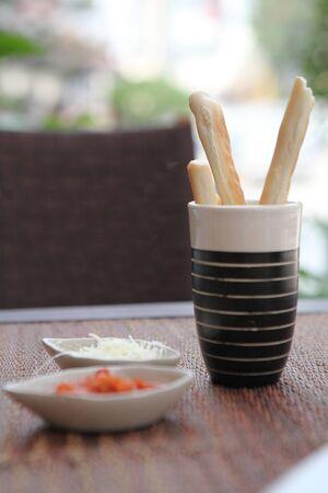 gressins: Breadsticks