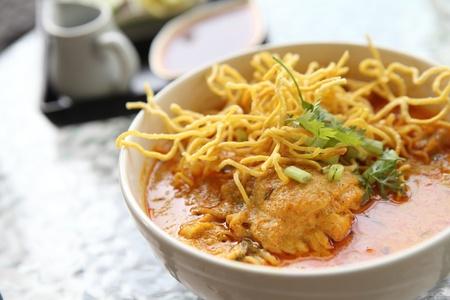 soi: Noodle Khao soi , Thai food
