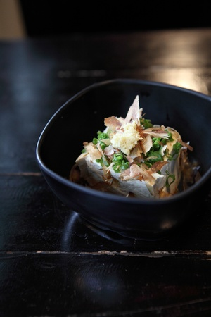 Japanese bean curd tofu photo