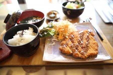 tonkatsu, escalope de porc