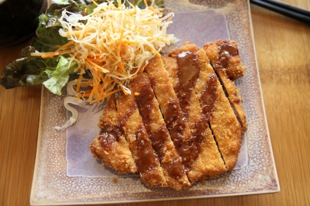 tonkatsu , Pork cutlet  photo