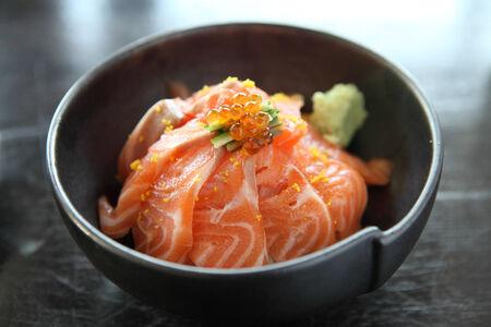 salomon sushi rice don Stock Photo - 24312592