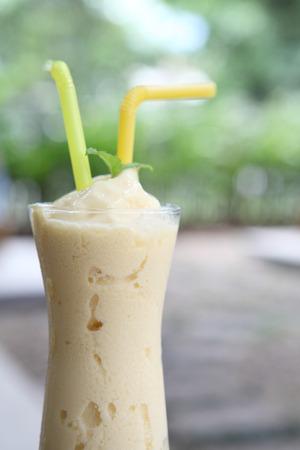 mango frappe juice photo