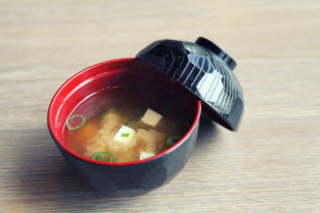 Miso soup , Japanese Food photo