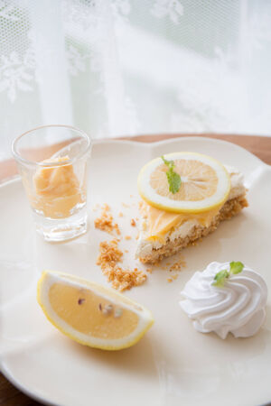 Lemon cake photo