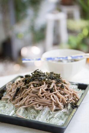 soba: Soba noodle