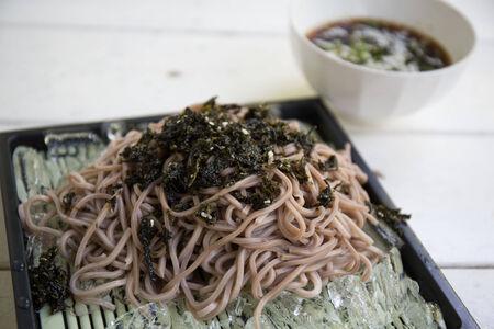 Soba noodle photo