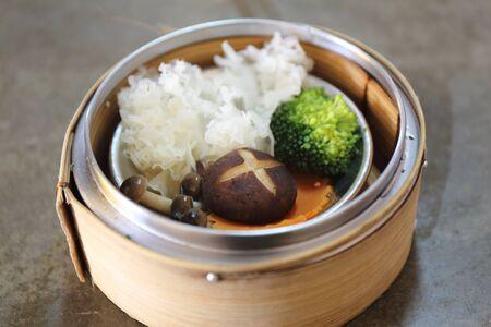 alumnos en clase: Comida china Dimsum