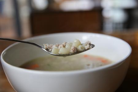 macarrones: Sopa de macarrones