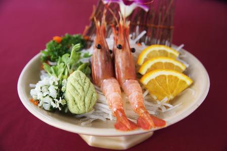 botan: Botan Shrimp sashimi