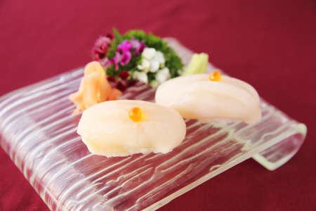 petoncle: sushi pétoncles