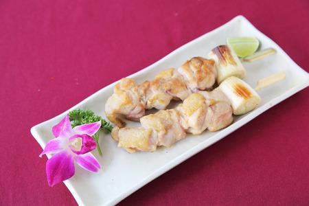 teriyaki: chicken teriyaki Stock Photo