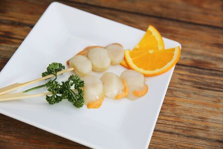 scallops: scallops for grill