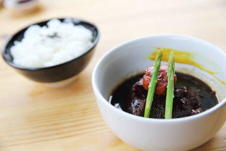 belly pepper: braised pork belly in Japanese style