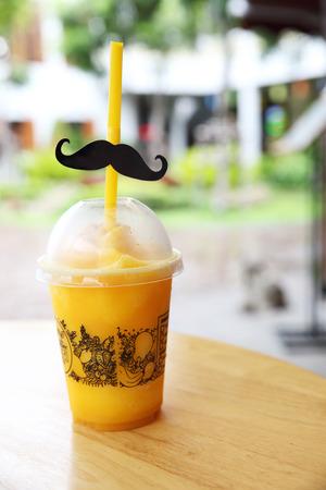 frappe: mango frappe juice