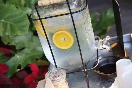 lemon water: lemon water